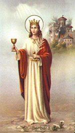 Święta Barbara, dziewica i męczennica