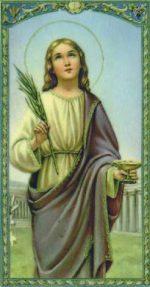 Święta Łucja, dziewica i męczennica